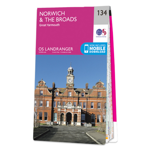 Map of Norwich & The Broads