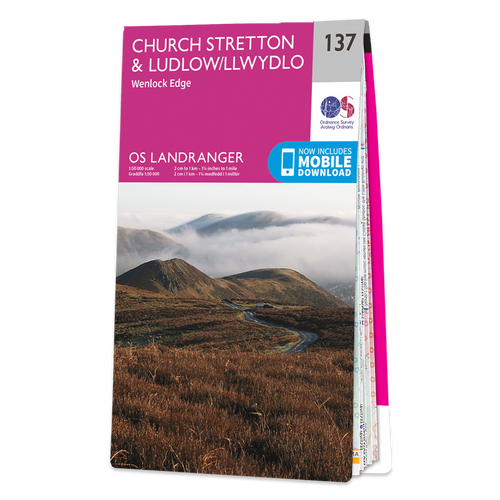 Map of Church Stretton & Ludlow