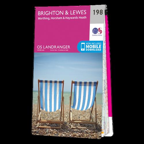 Map of Brighton & Lewes