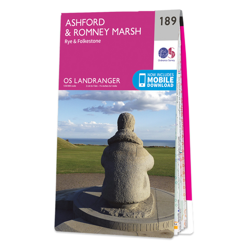 Map of Ashford & Romney Marsh