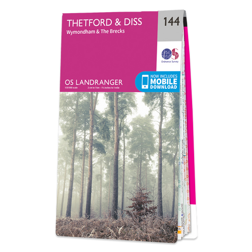 Map of Thetford & Diss