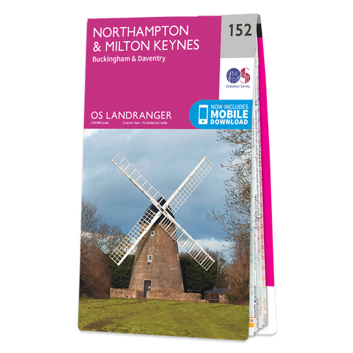 Map of Northampton & Milton Keynes