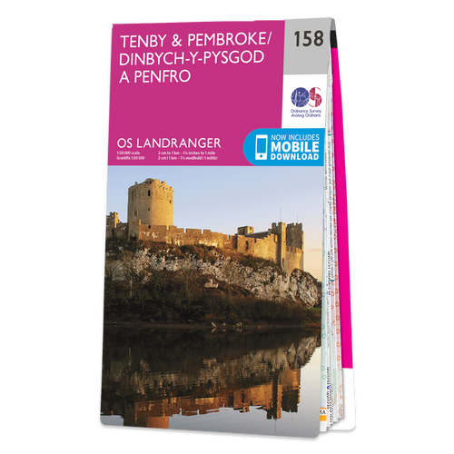 Map of Tenby & Pembroke