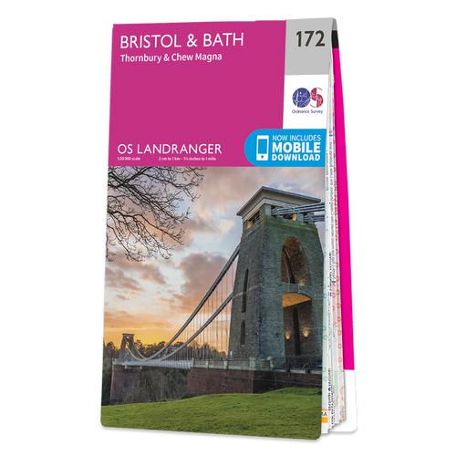 Map of Bristol & Bath