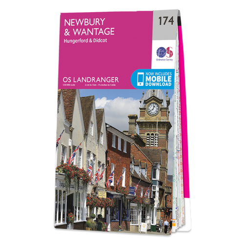 Map of Newbury & Wantage