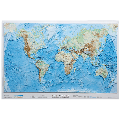 Dorrigo 3D World relief map