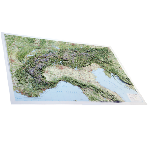Dorrigo 3D Alps relief map
