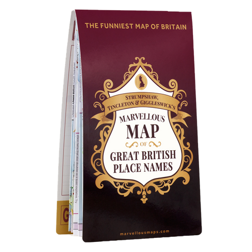 ST&G's Marvellous Map of Great British Place Names
