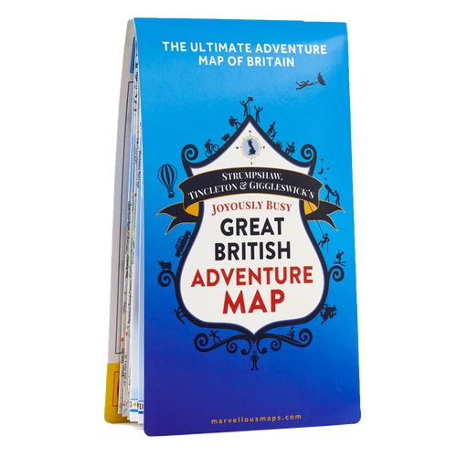 ST&G's Great British Adventure Map