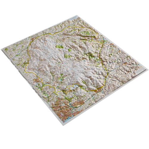 Dorrigo 3D Map of Dartmoor National Park