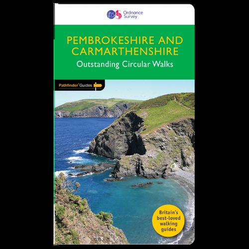 Pembrokeshire & Carmarthenshire - Pathfinder walks guidebook