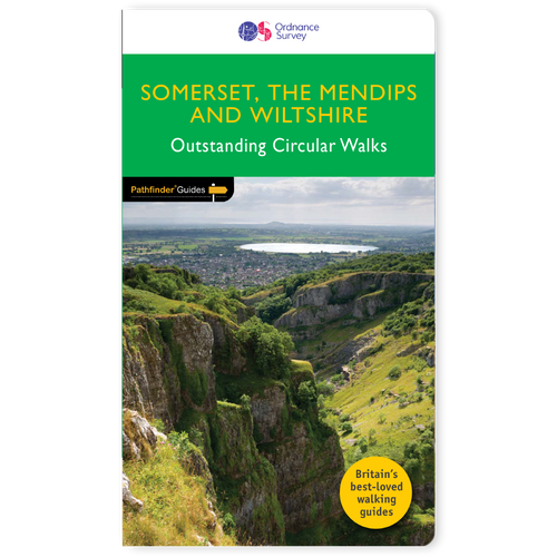 Somerset, Wiltshire & the Mendips - Pathfinder walks guidebook