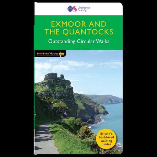 Exmoor & the Quantocks - Pathfinder walks guidebook