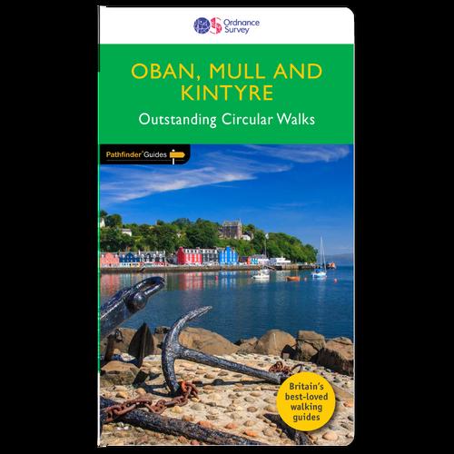 Oban, Mull & Kintyre - Pathfinder walks guidebook