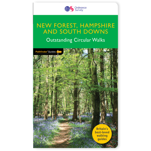 New Forest, Hampshire & South Downs - Pathfinder walks guidebook