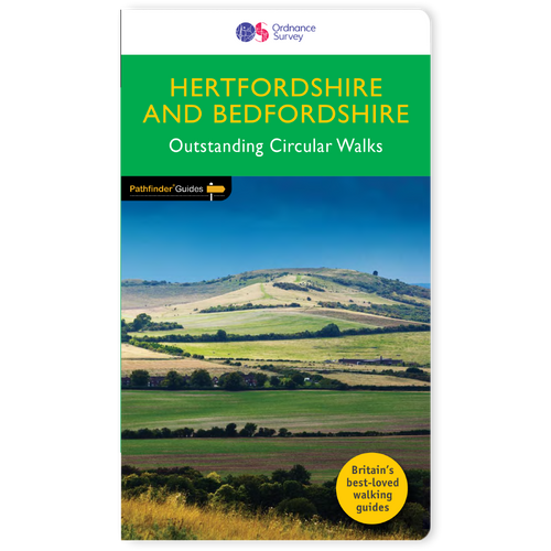 Hertfordshire & Bedfordshire - Pathfinder walks guidebook