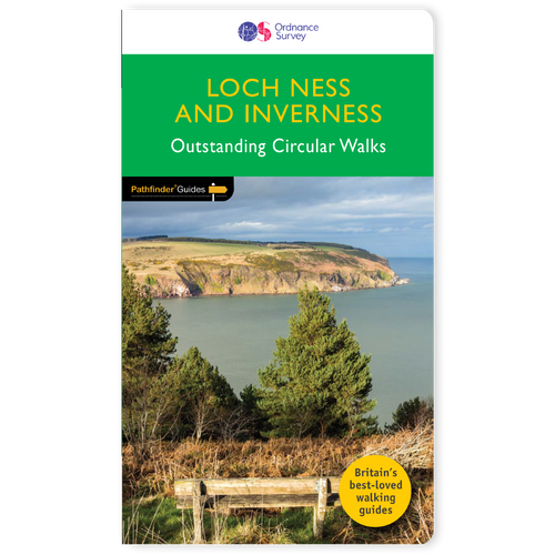 Loch Ness and Inverness Pathfinder walks guidebook