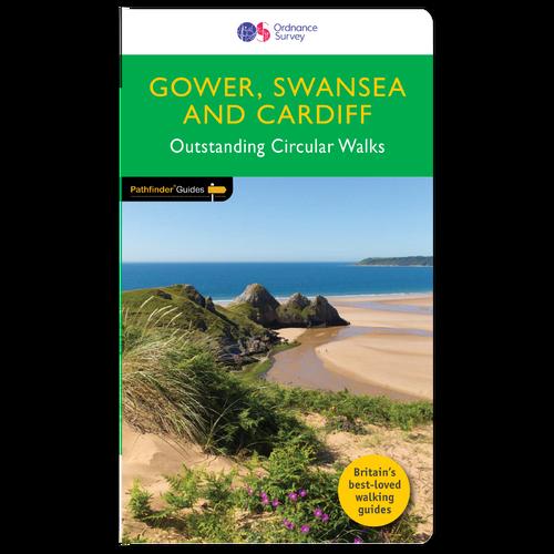 Gower, Swansea & Cardiff - Pathfinder walks guidebook