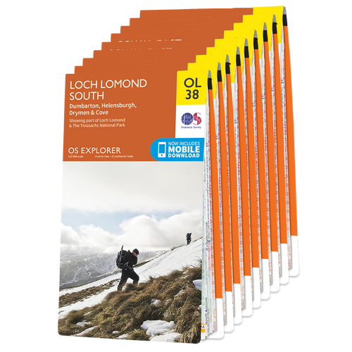 OS Explorer Wainwright's Coast-to-Coast Walk map set