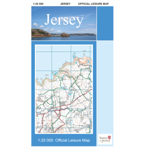 Map of Jersey Official Leisure Map