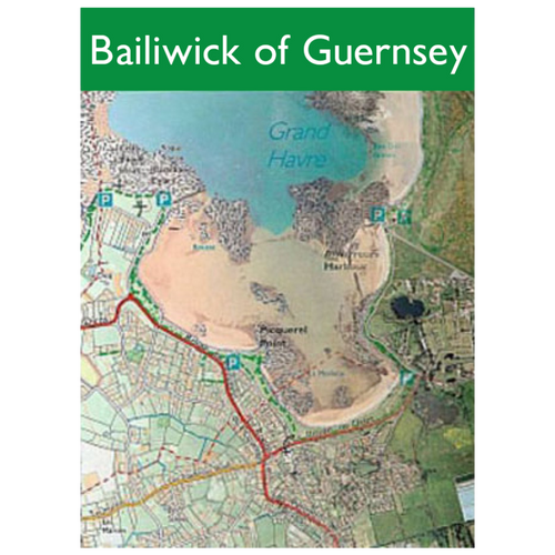 Map of The Bailiwick of Guernsey