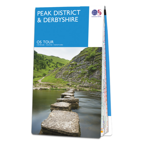 Map of Peak District & Derbyshire