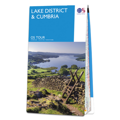 Map of Lake District & Cumbria