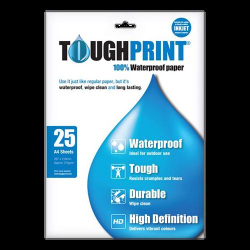 Toughprint Waterproof Paper for inkjet A4