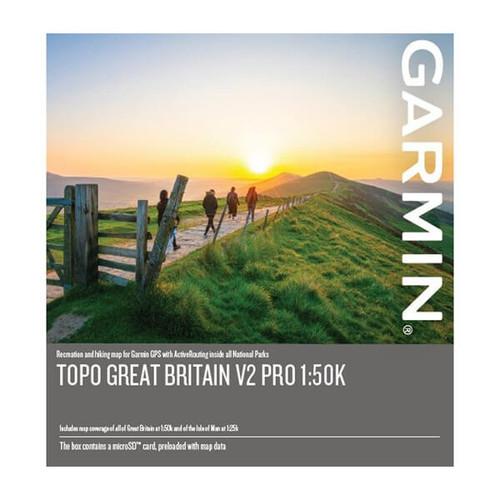 Garmin 1 to 50k topo map card 2021 edition