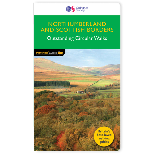 Northumberland & Scottish Borders - Pathfinder walks guidebook