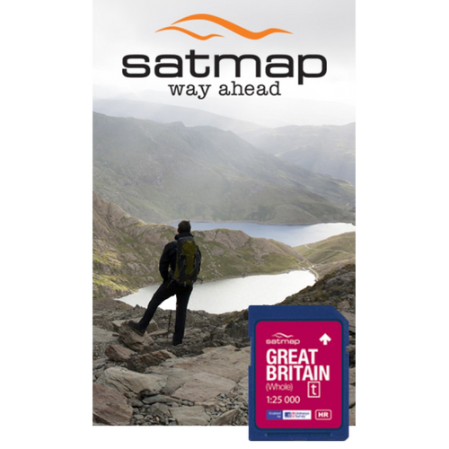 Satmap: Great Britain Whole 1:25k mapcard