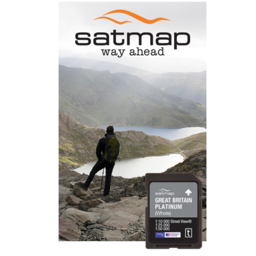Satmap: Great Britain Whole 1:25k and 1:50k mapcard