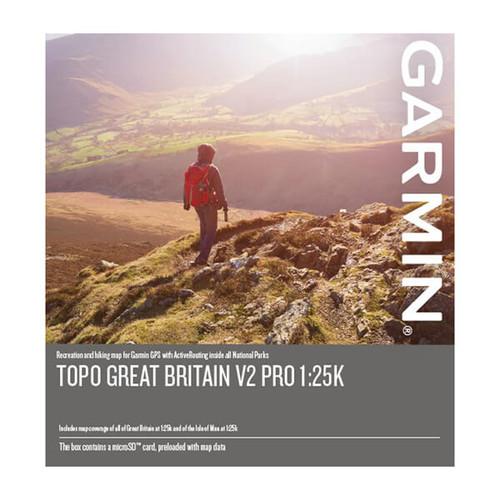 Garmin GB TOPO PRO - GB v2 Full 25k, 50k, 250k