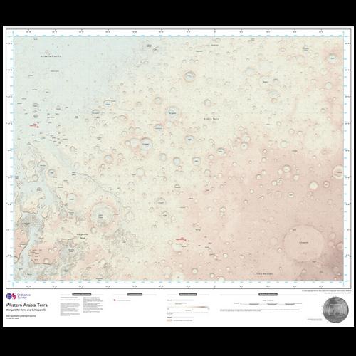 Mars - Western Arabia Terra (Limited edition)