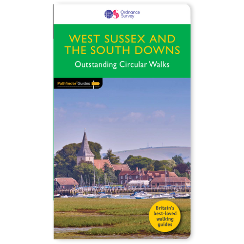 West Sussex & South Downs - Pathfinder walking guidebook