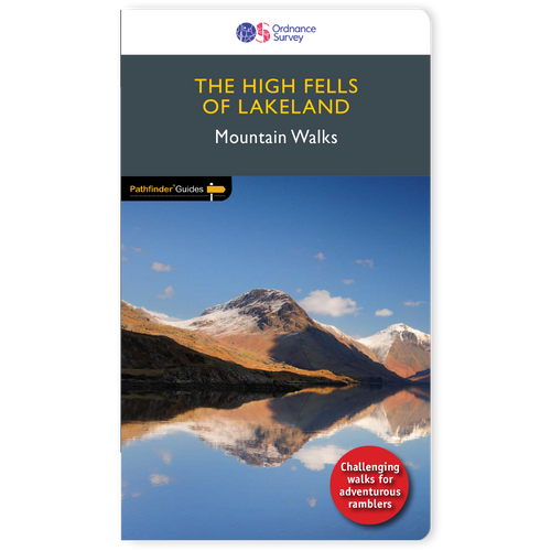 High Fells of Lakeland - Pathfinder Mountain walks guidebook