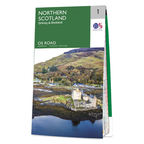 Map of Northern Scotland