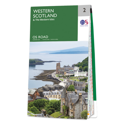 Map of Western Scotland