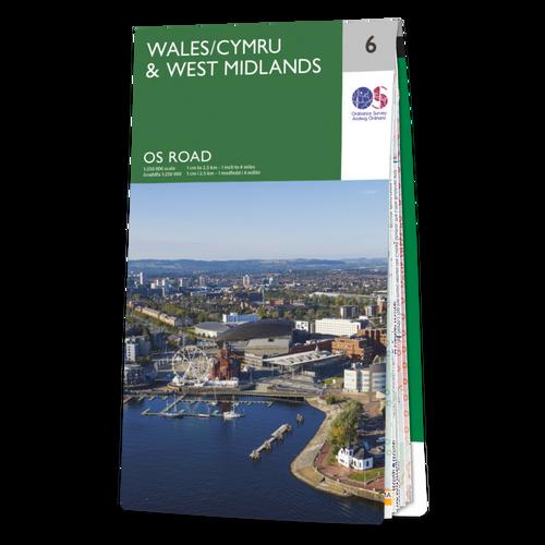 Map of Wales / Cymru