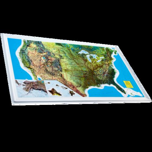 Dorrigo 3D USA relief map