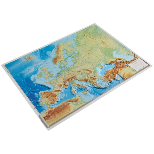 Dorrigo 3D Europe relief map