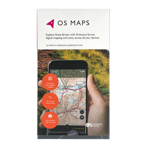 OS Maps Subscription Gift Pack