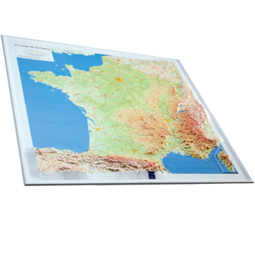 Dorrigo 3D map of France