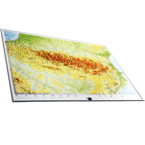 Dorrigo 3D map of the Pyrenees