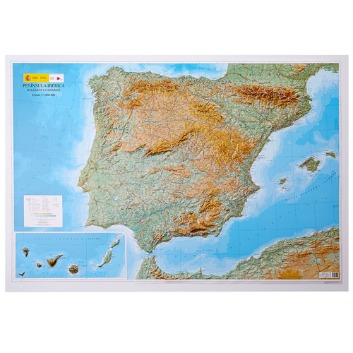 Dorrigo 3D map of Spain