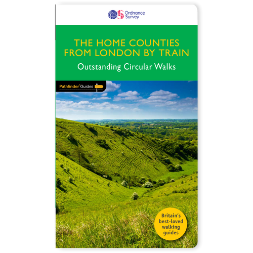 The Home Counties from London by train - Pathfinder walking guidebook