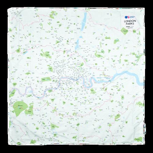 OS Waterproof Picnic Rug - London Parks