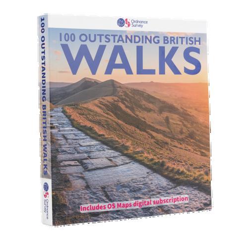 100 Outstanding British Walks - Pathfinder Guidebook