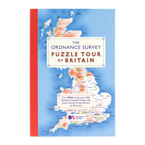 The Ordnance Survey Puzzle Tour of Britain Book 2019