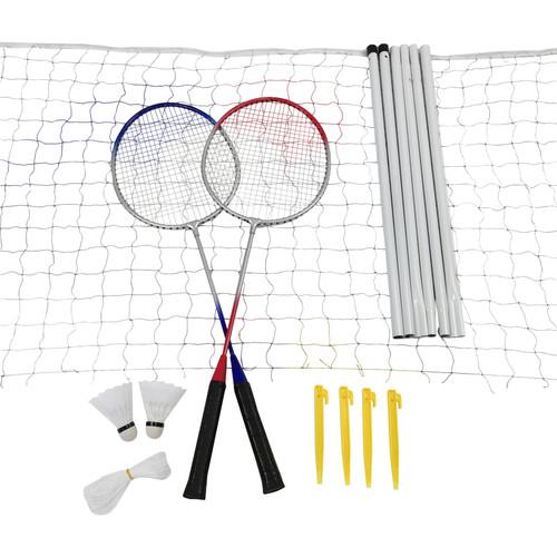 Badminton set with net